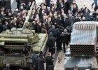 Czołgi, wyrzutnie i pociski. Poroszenko zaprezentował dowody na obecność militarną Rosjan na Ukrainie