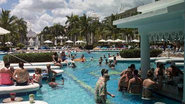 Turystyka 'all inclusive'. Dominikana, Punta Cana, 4 kwietnia 2016