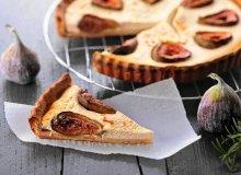 Tarta z figami i kozim serem - ugotuj