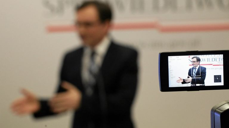 Konferencja ministra Ziobry na sto dni rządu