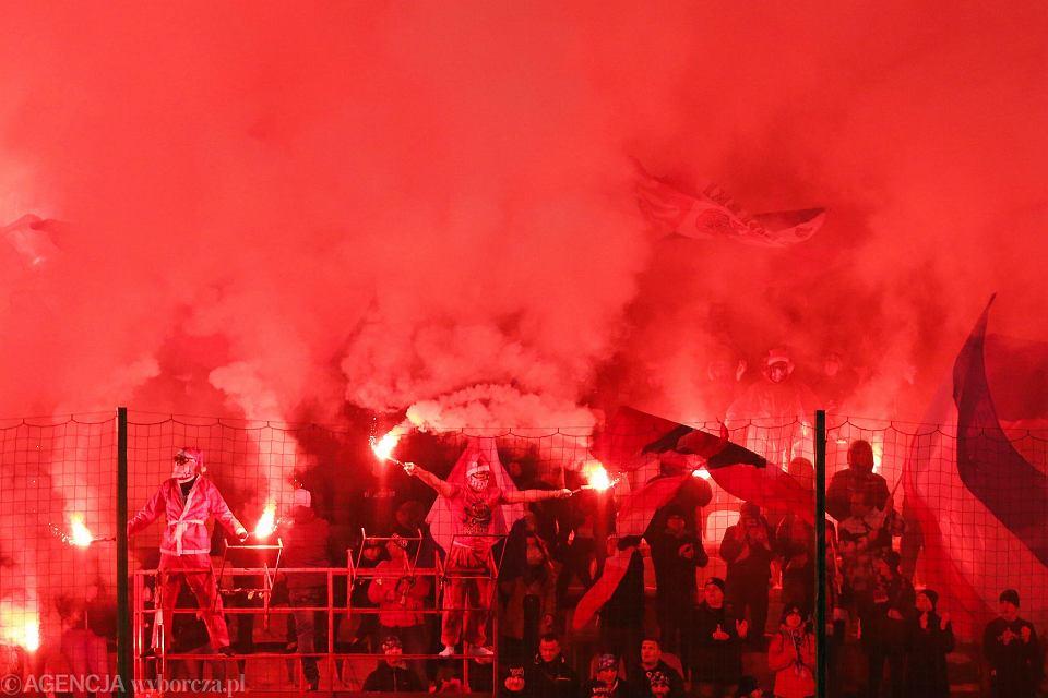 Mecz na stadionie Wisły Kraków