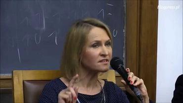 Barbara Stanisławczyk, prezes Polskiego Radia, podczas konferencji