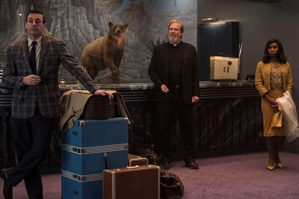 Jeff Bridges zagrał księdza w filmie 'Źle się dzieje w El Royale'. / KIMBERLEY FRENCH