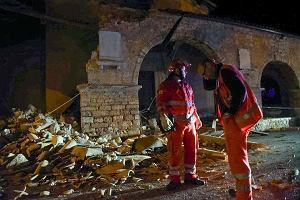 Naszego miasteczka ju� nie ma. Kolejne trz�sienie ziemi we W�oszech. W regionie Marche run�y budynki