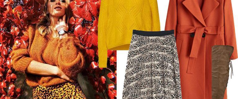 Ubraniowe bestsellery w kolorach jesieni! Tych rzeczy nie powinno zabraknąć w waszych szafach