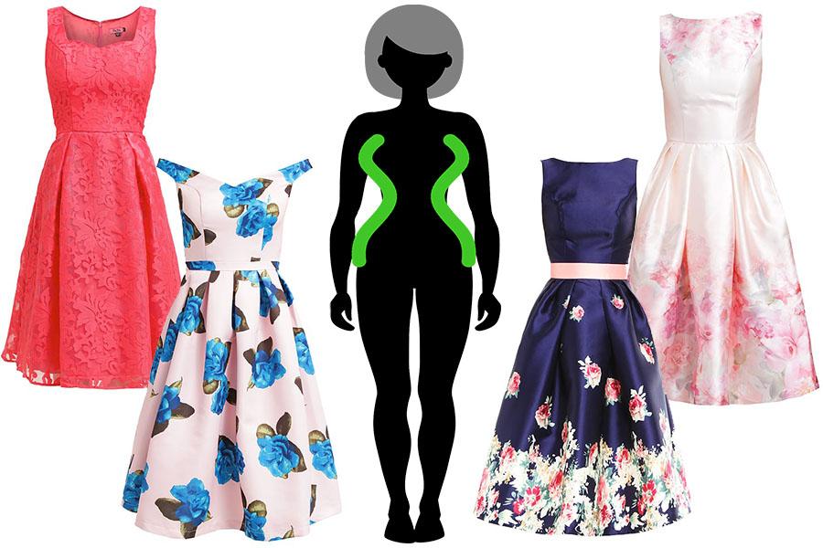 Idealne sukienki wieczorowe dla Klepsydry