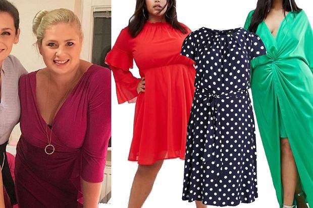 Kolaż, sukienki kryjące niedoskonałości/Materiały partnera