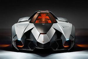 Lamborghini Egoista - Apache na kołach