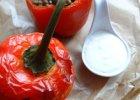 Papryka faszerowana ry�em, mi�sem i warzywami