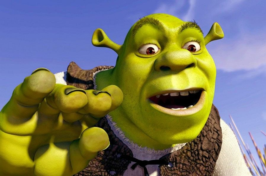 Kadr z filmu 'Shrek'