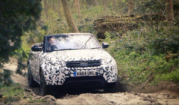 Range Rover Evoque Cabrio | W trudnym terenie