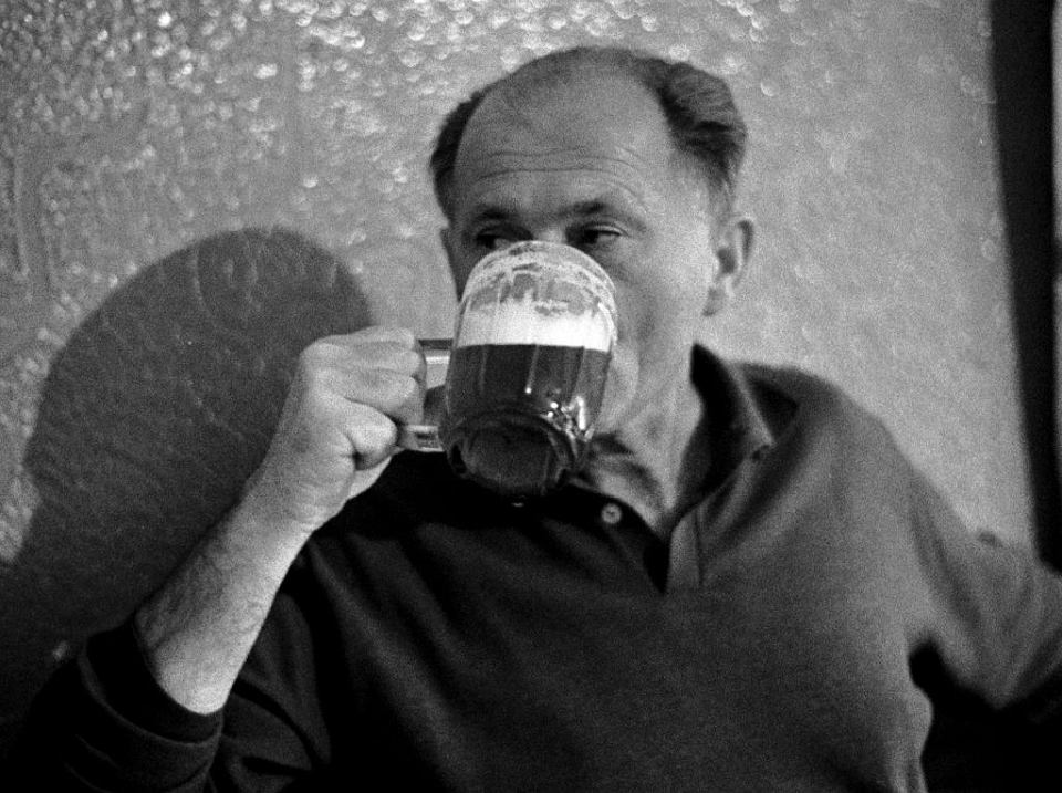 Bohumil Hrabal i piwo