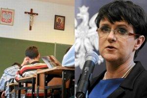 Etyka nawet dla jednego ucznia. Minister Edukacji Narodowej Joanna Kluzik-Rostkowska zmienia rozporz�dzenie