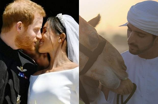 Książę Harry i Meghan Markle, książę z Dubaju