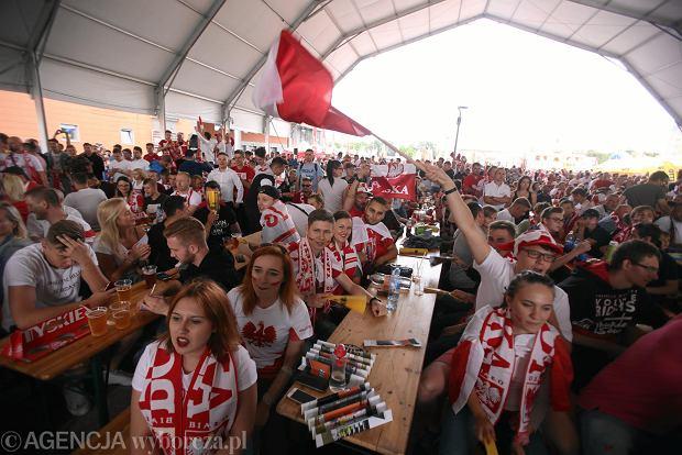 1a2214a6a Mecz Polska-Senegal w szczecińskiej strefie kibica przy Netto Arenie