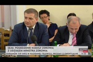 """Ar�ukowicz: Wzywanie mnie przed komisj� zdrowia to """"grudniowy chocholi taniec"""""""