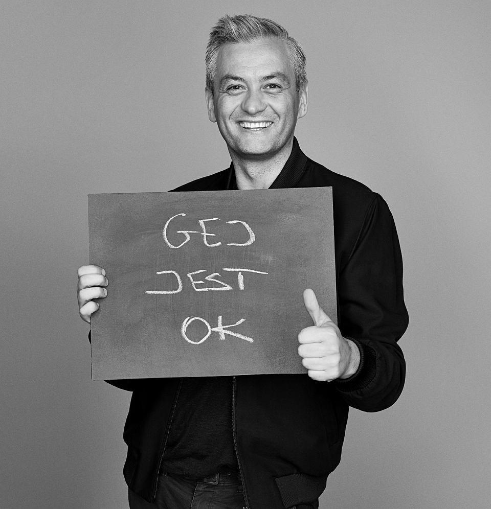 Robert Biedroń w kampanii Anji Rubik #SEXEDPL