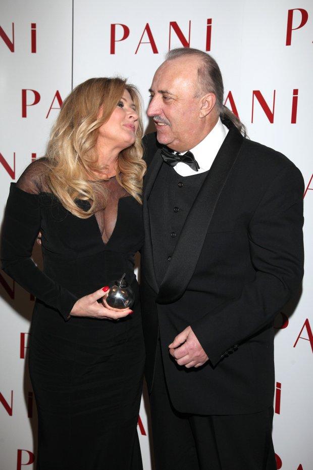 Beata Kozidrak i Andrzej Pietras, mąż