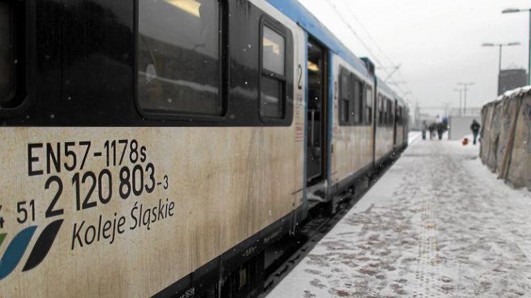 Mróz opóźnia pociągi w województwie śląskim