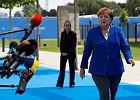 Angela Merkel przed szczytem NATO w Brukseli