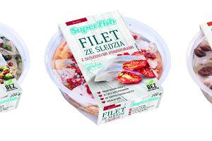 Nowość: Krojone filety śledziowe SuperFish - nowe smaki, receptury i opakowania!