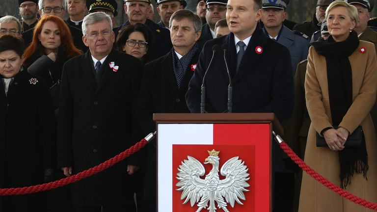 Święto Niepodległości 11 listopada. Przemówienie Prezydenta Andrzeja Dudy.
