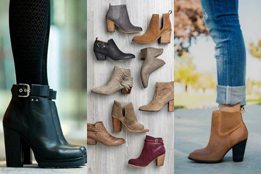 885cf72022b2 Botki na obcasie - najlepsze obuwie na jesień