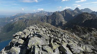 Lawina kamienna w Tatrach Wysokich. Nie �yje polski taternik