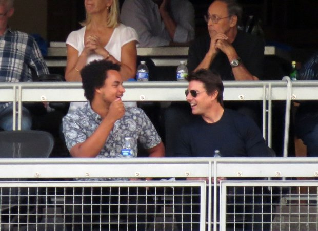 Connor Cruise i Tom Cruise