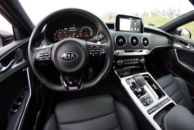 Test Kia Stinger 3 3 V6 T Gdi 370 Km 8at