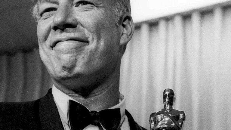 George Kennedy z Oscarem - 1968 r.
