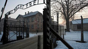 Brama obozu Auschwitz