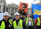 """Pikieta """"Solidarno�ci"""" przed ambasad� Rosji w Warszawie"""