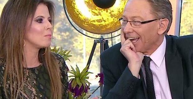 Jacek Borkowski w telewizji z młodą partnerką. Mówili o różnicy wieku. ''Są więksi rekordziści''