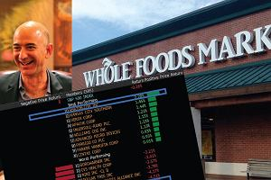Jeff Bezos, szef Amazon, przejął sieć Whole foods