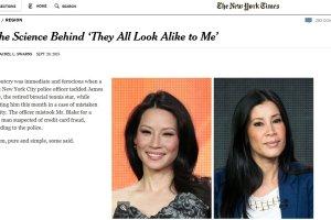 Nie rozróżniasz jednej czarnoskórej twarzy lub azjatyckiej od drugiej? Spokojnie. To nie rasizm
