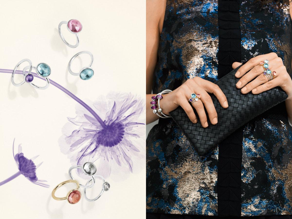 Linia pierścionków z kolorowymi kamieniami Pandora (zdj. Pandora)