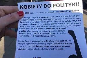 """""""Aborcja nie policja. Pomoc wzajemna, nie przemoc"""". Manifa na ulicach Warszawy"""