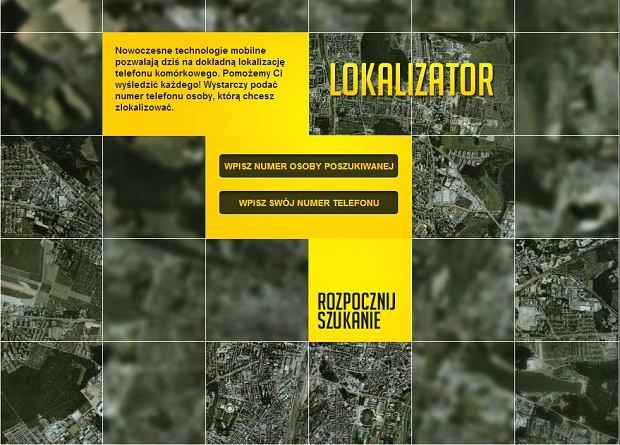 Lokalizator - rewolucyjna us�uga lokalizuj�ca znajomych