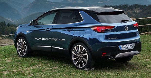 Wizualizacja Opel Grandland X