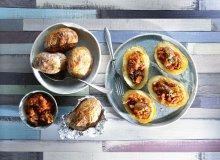 Ziemniaki nadziewane jagni�cin� - ugotuj