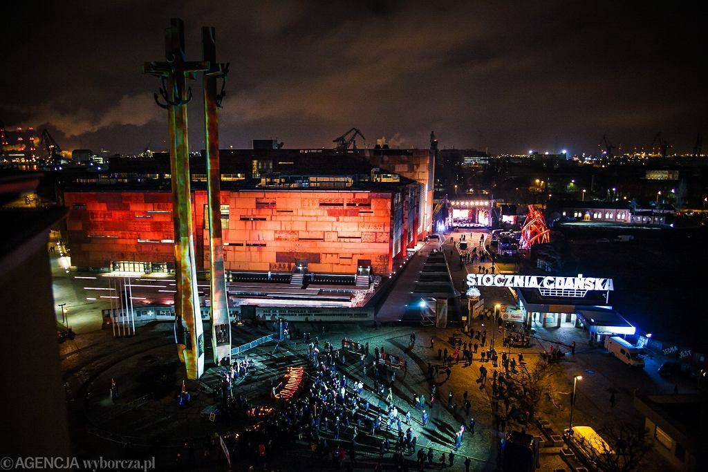Koncert w Stoczni Gdańskiej / Fot. Renata Dąbrowska / Agencja Gazeta