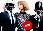 Karlie Kloss w surrealistycznej fryzurze, w towarzystwie dwóch znanych DJ-ów w kaskach. O co chodzi?