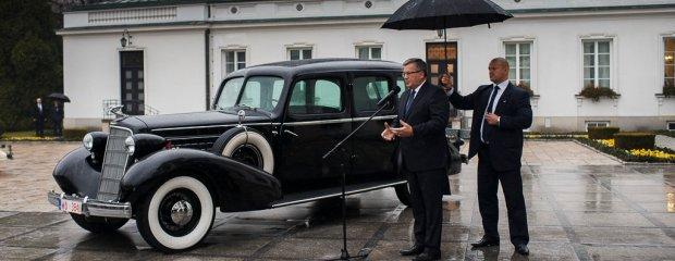 Odrestaurowany Cadillac Marszałka Piłsudskiego