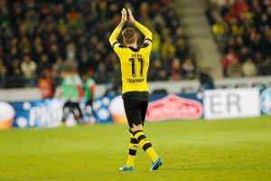 Bundesliga. Borussia wygrywa 5:1, Aubameyang bohaterem