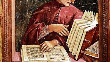 Dante Alighieri na fresku Luki Signorellego. Jeden z jego słynnych fresków w katedrze w Orvieto nosi tytuł ''Piekło'', jak część ''Boskiej komedii'' ? i jak powieść Browna