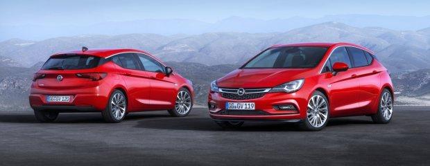 Opel Astra   Pierwsze zdjęcia nowego kompaktu z Polski