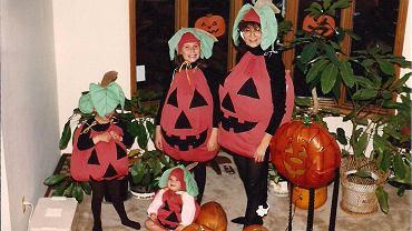 Zabawne rodzinne stroje na Halloween