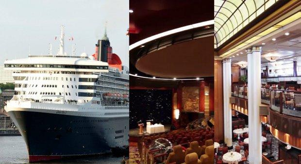 Majestatyczny i obrzydliwie luksusowy. S�ynny liniowiec Queen Mary 2 przejdzie lifting