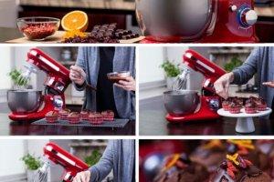 W s�odkim zimowym tonie: przepis na czekoladowe muffinki z jagodami goji, �urawin� i �wie�� sk�rk� pomara�czy z polew� z gorzkiej czekolady